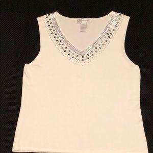 Dressy v-neck blouse